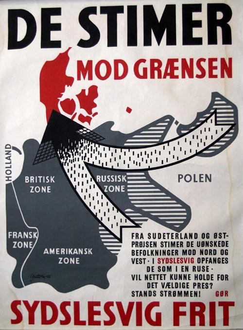 Advarsel mod den tyske flygtningestrøm til Slesvig efter 2. verdenskrig, Slesvigsk Udvalg 1945