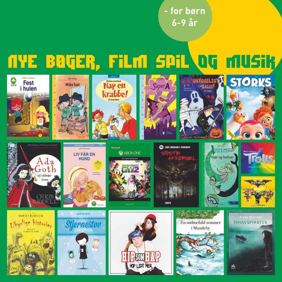 Nye bøger, film, spil og musik #3 2017