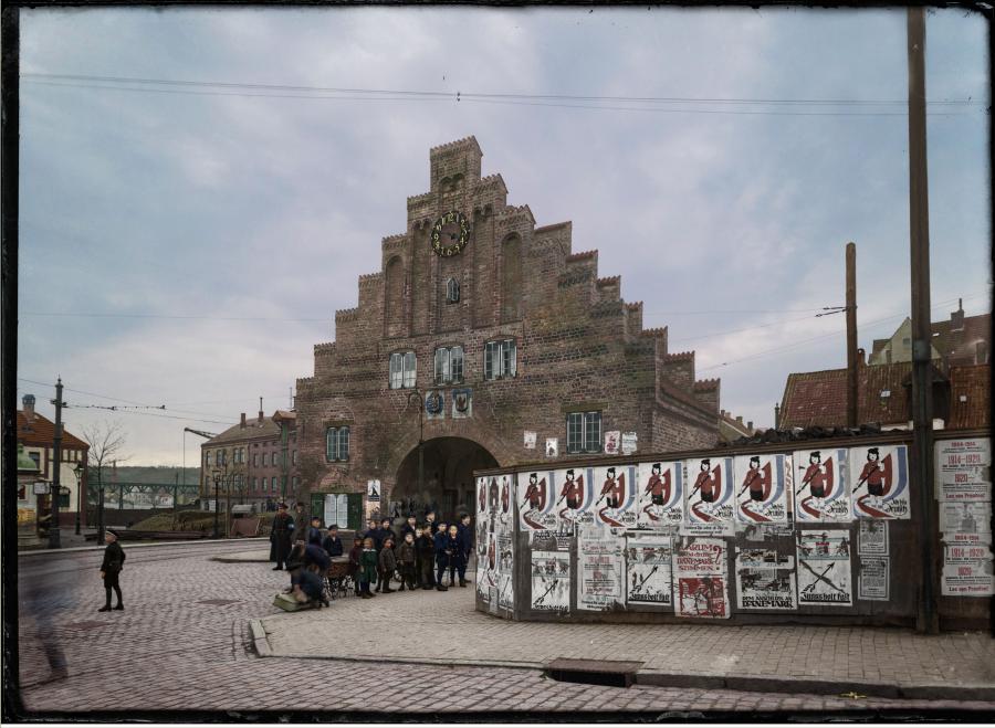 Nordertor i Flensborg 1920