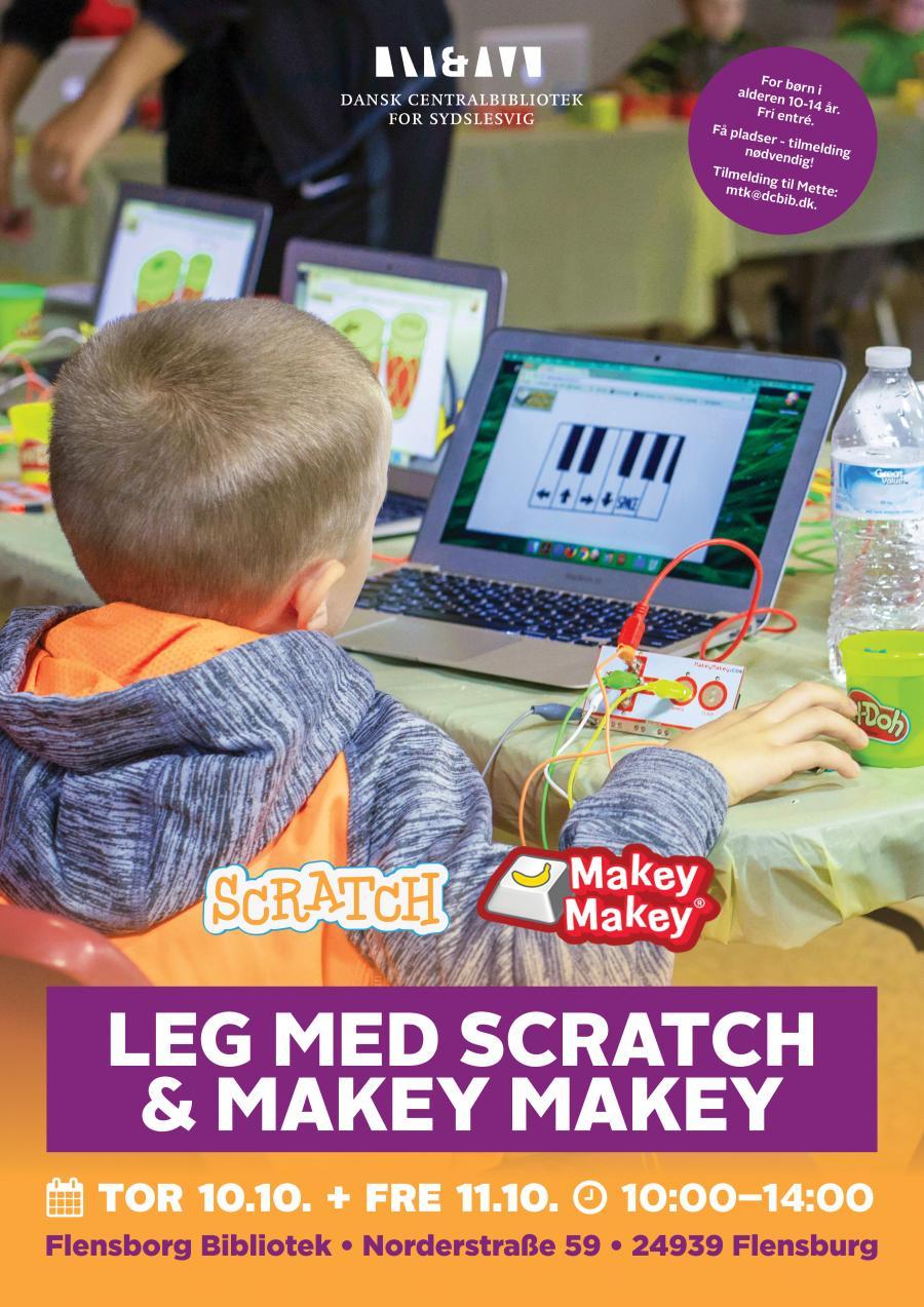 Leg med Scratch og Makey Makey