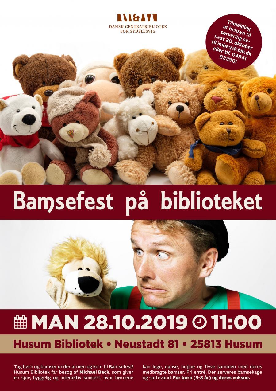 Plakat til Bamsefest