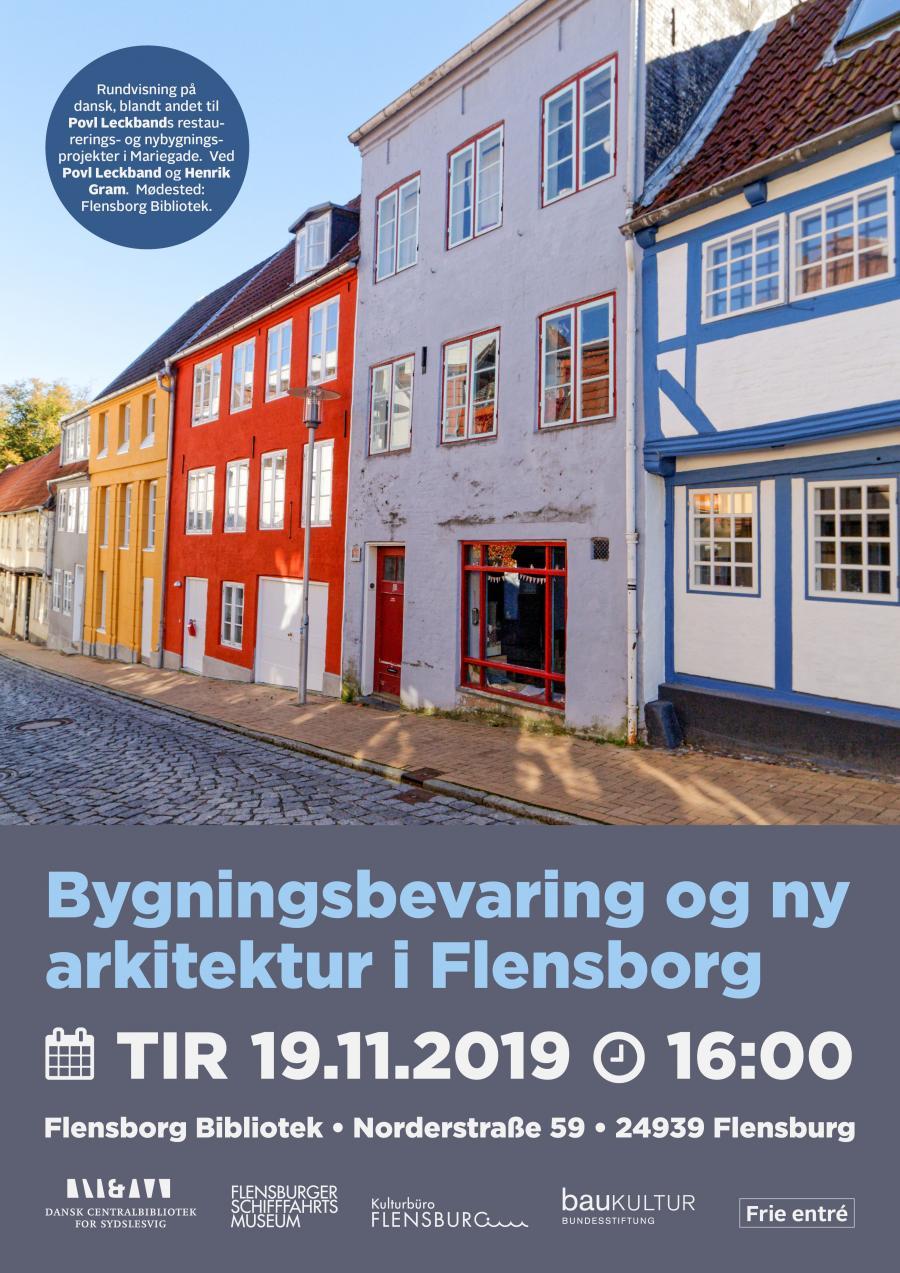 Bygningsbevaring og ny arkitektur i Flensborg