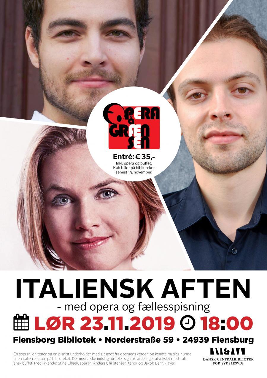 Italiensk aften - med opera og fællesspisning
