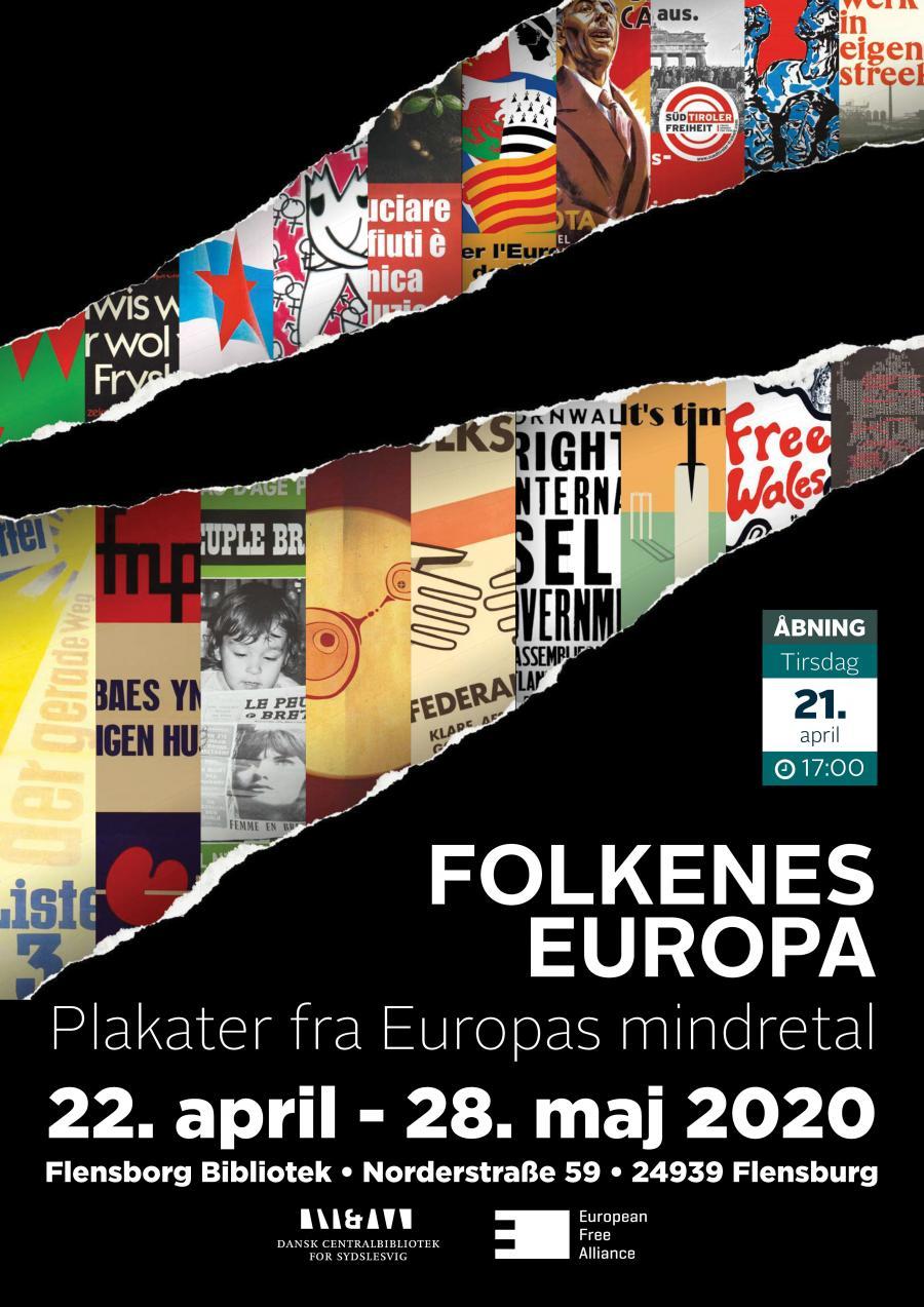 Folkenes Europa – plakater fra Europas mindretal