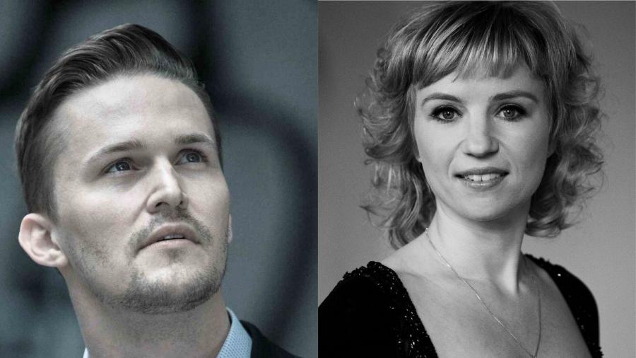 Jakob Vad og Nina Bols Lundgren.