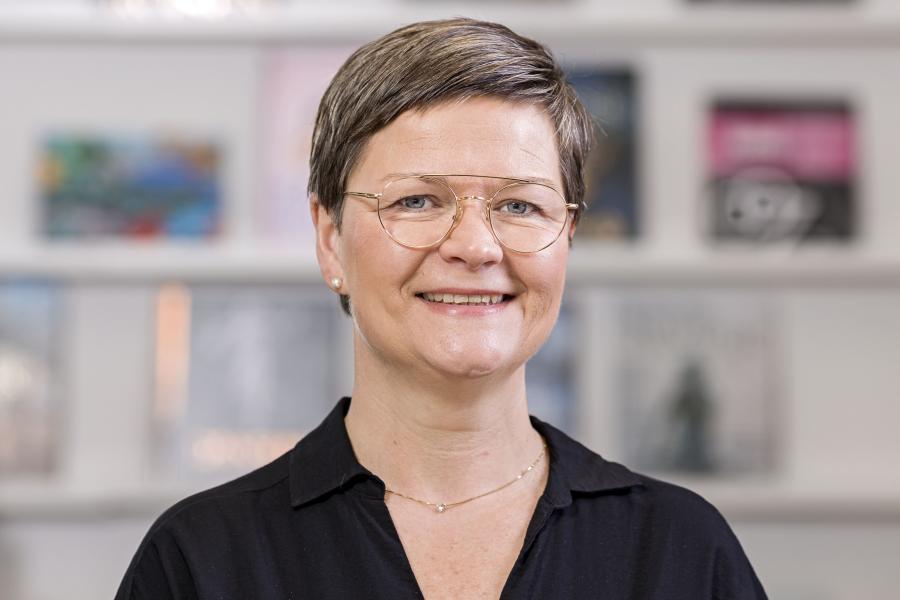 Bibliotekar Rita Jakobsen