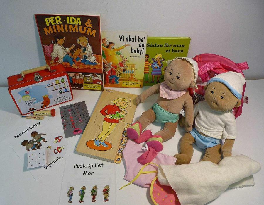 Baby - Sprogkuffert for 4 -7 årige