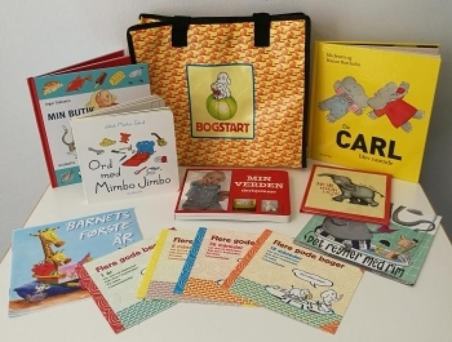 Bogstart - sprogkuffert for 1-3 årige