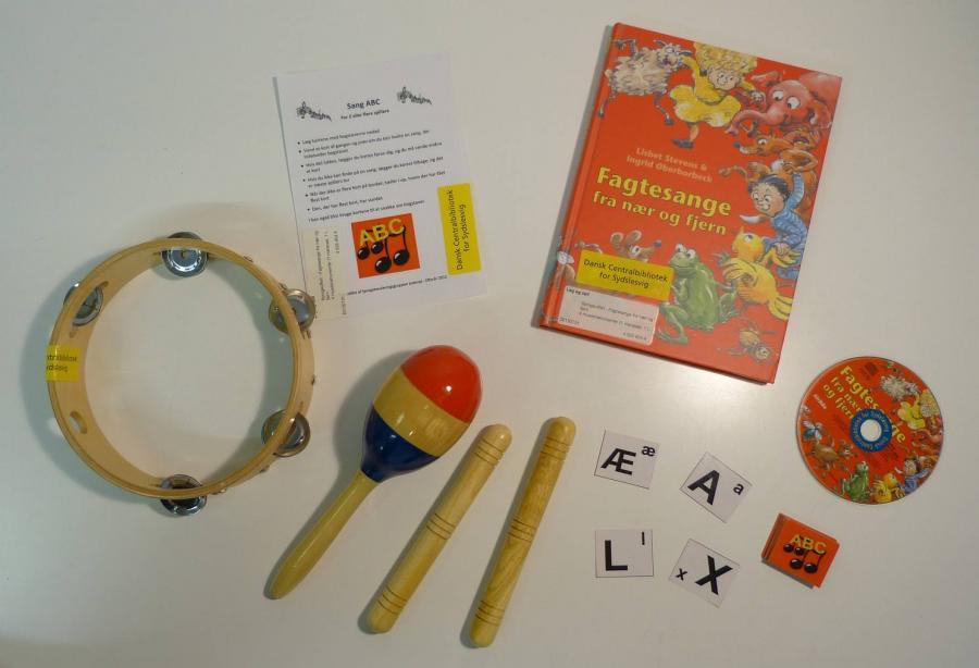 Fagtesange fra nær og fjern - sangkuffert for 4-6 årige