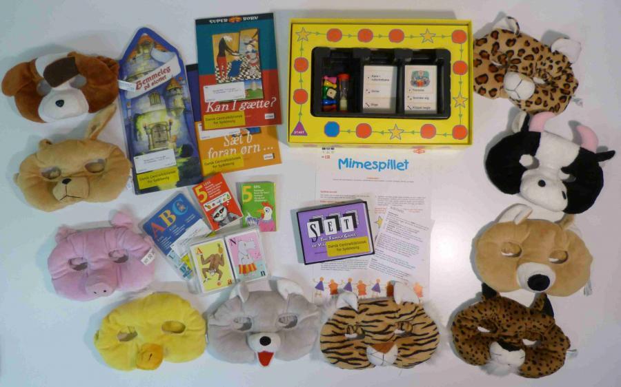 Find og gæt - Sprogkuffert for 4-7 årige