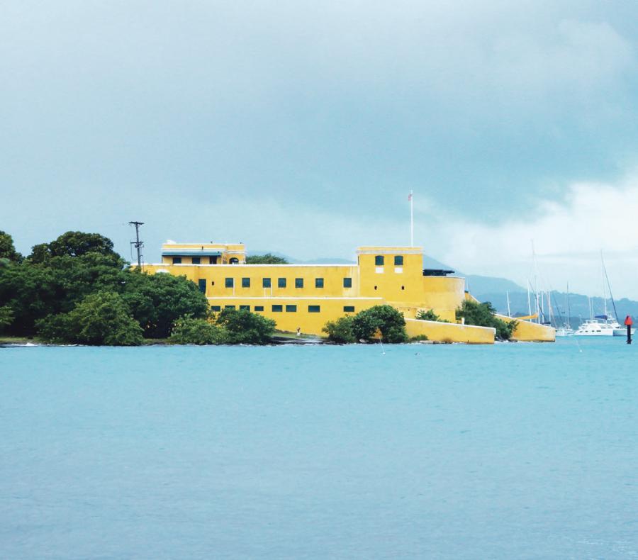 Christiansværn i Christiansted på St. Croix. (Foto: Mogens Rostgaard Nissen)