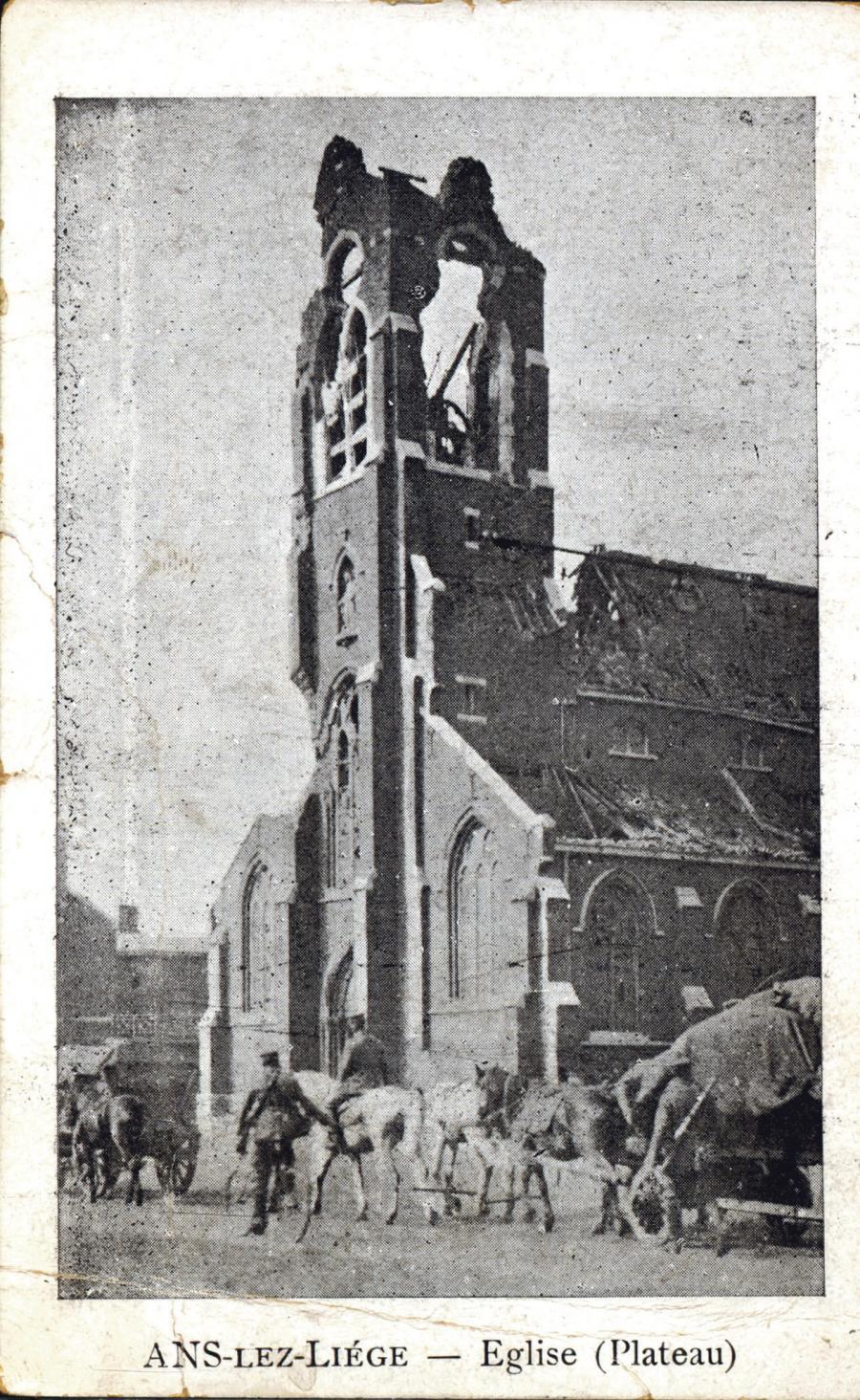 Den belgiske by Liege havde allerede været udsat for kamphandlinger i efteråret 1914.