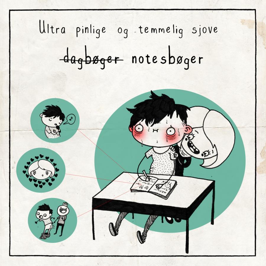 Ultra pinlige og temmelig sjove notesbøger
