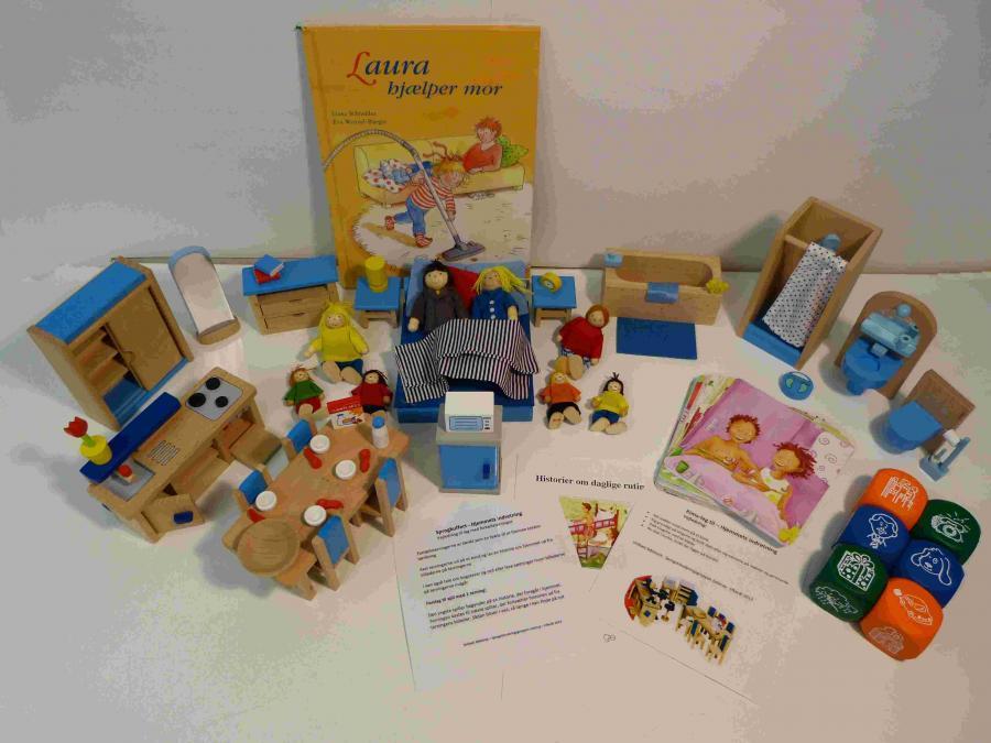 Hjemmets indretning - Sprogkuffert for 4-7 årige