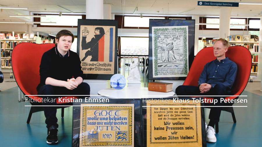 Klaus Tolstrup Petersen om plakaternes rolle under folkeafstemningen i 1920