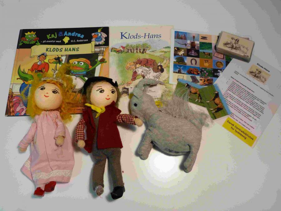 Klods Hans - Sprogkuffert for 3-6 årige