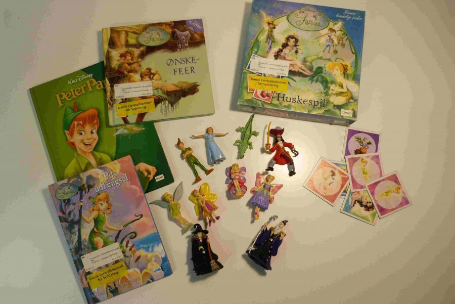 Klokkeblomst og alle de andre feer - sprogkuffert for 4-10 årige