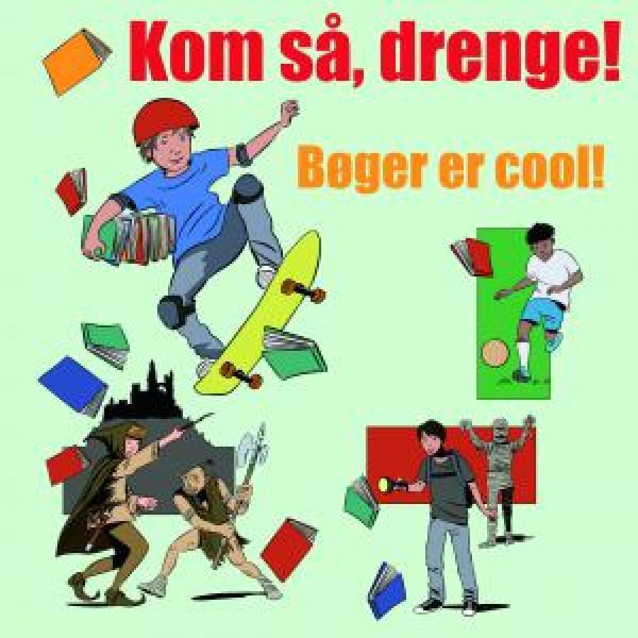 cool bøger for drenge