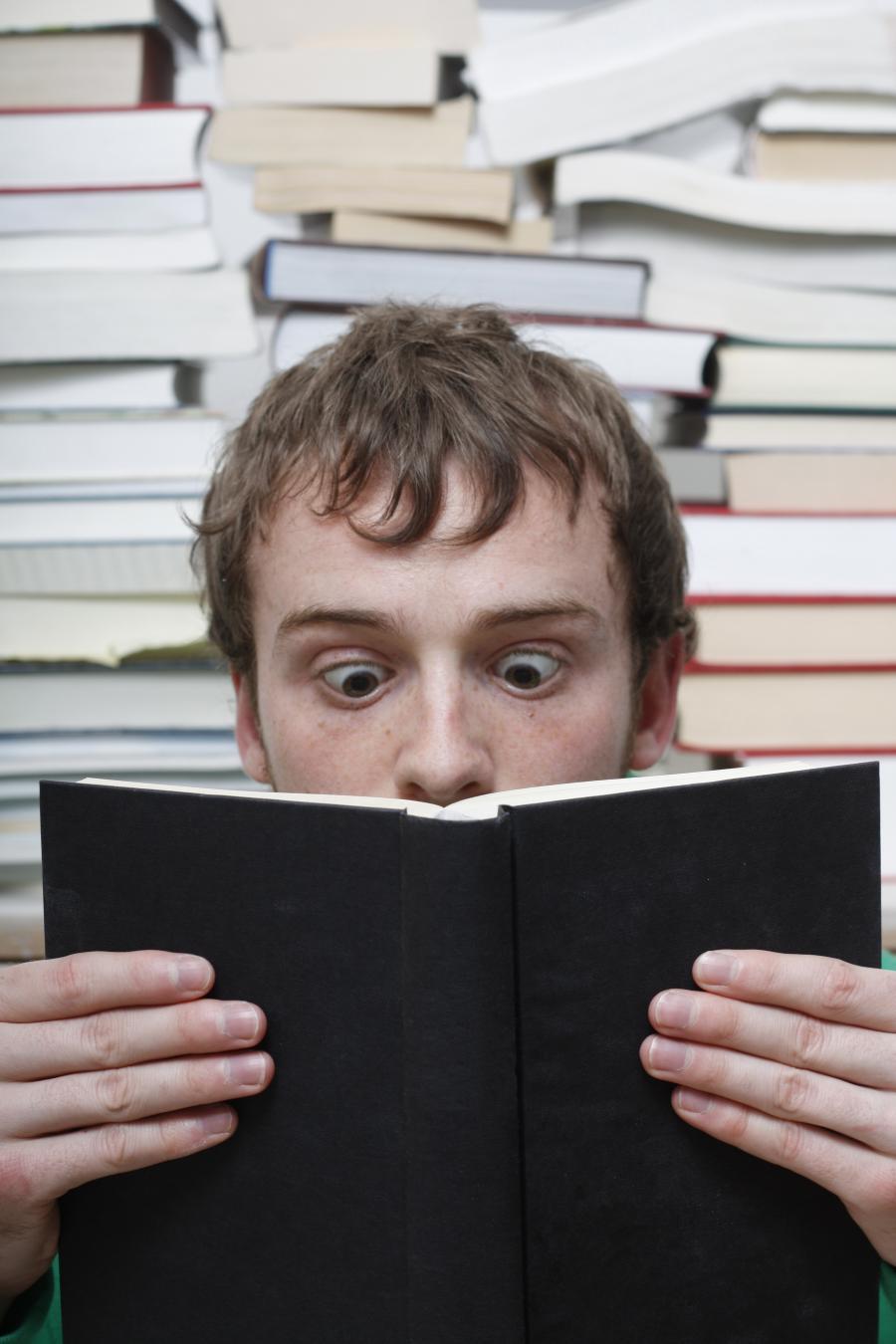 Når bogen fanger....