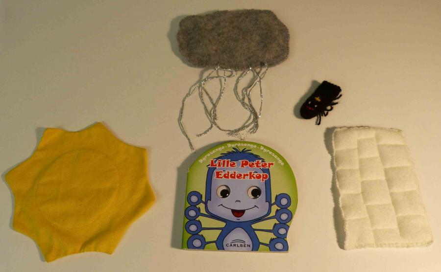 Lille Peter Edderkop - sangkuffert for 2-6 årige