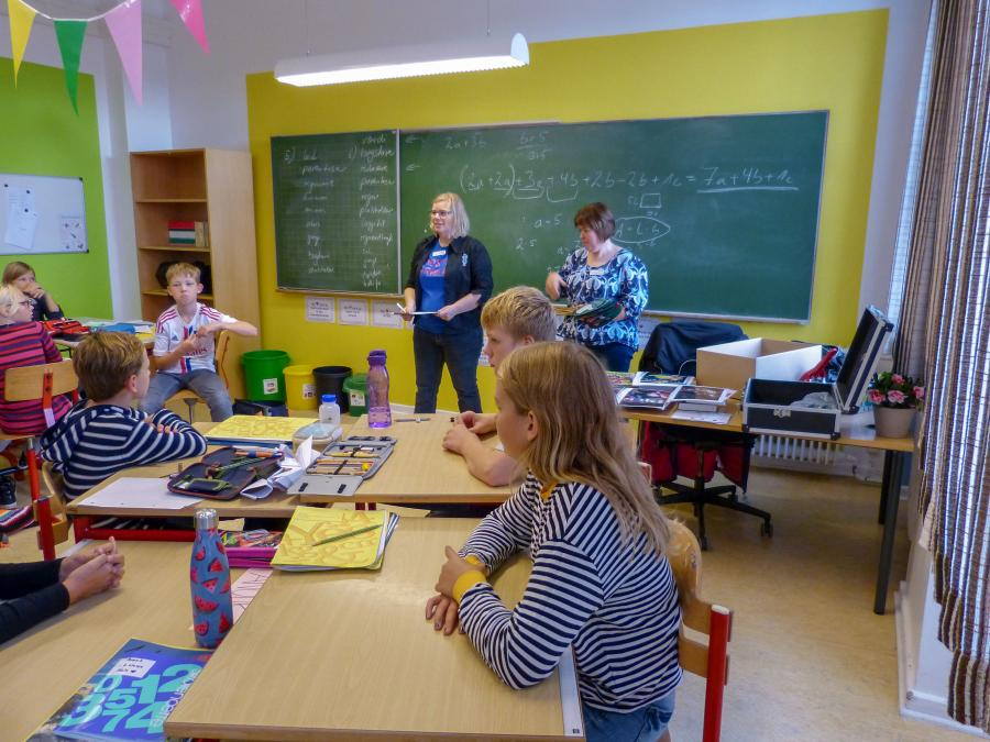Booktalk for skoleelever