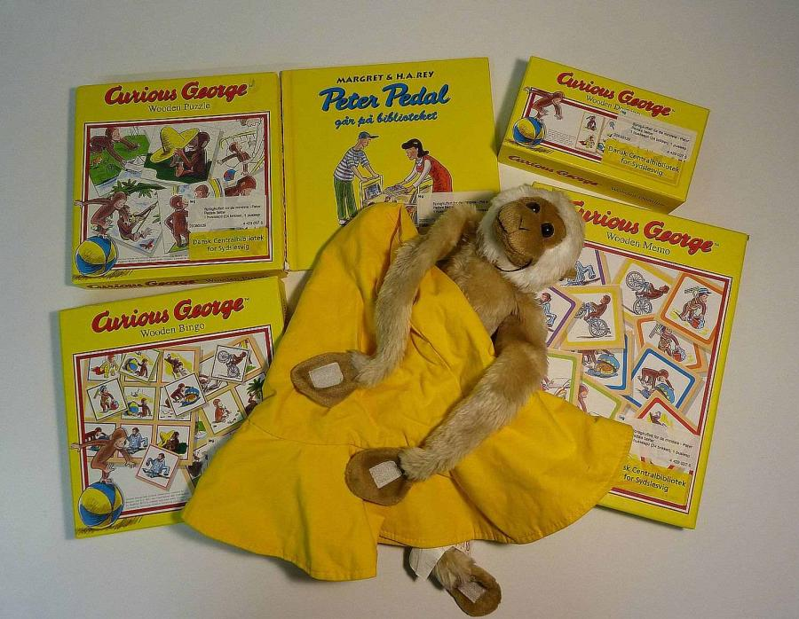 Peter Pedals fætter - sprogkuffert for 3-6 årige