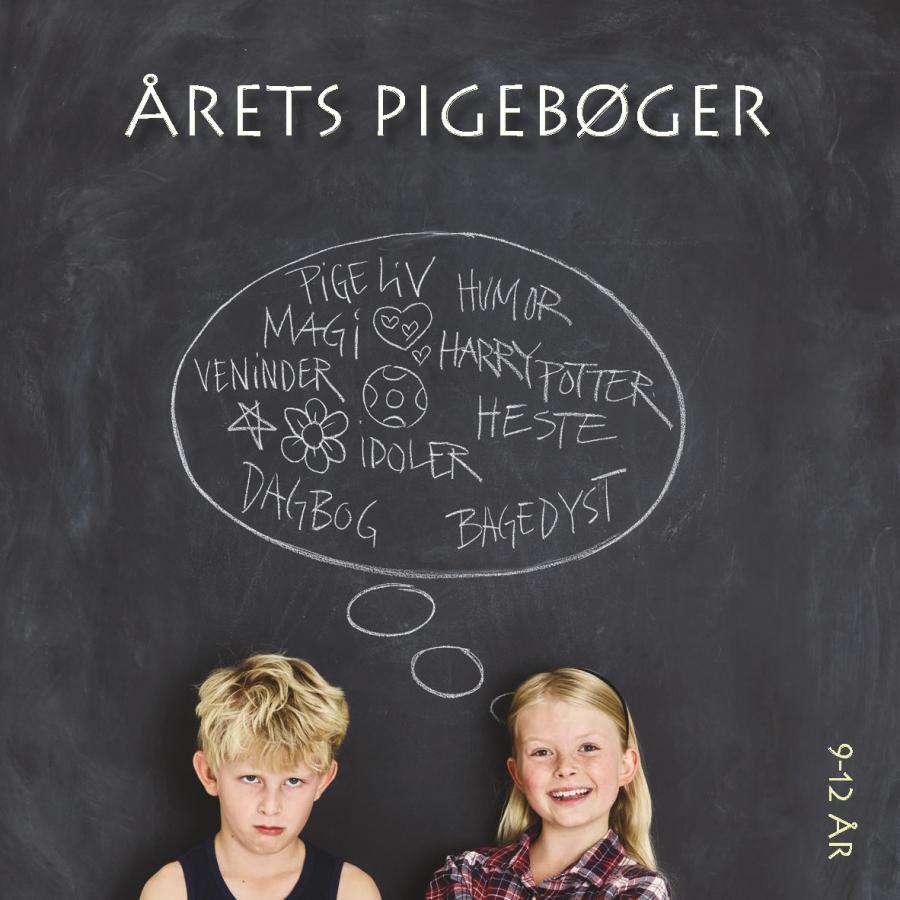 Årets pigebøger - 9-12 år