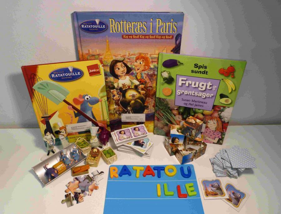 Ratatouille - sprogkuffert for 3-6 årige