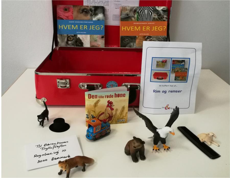 Rim og remser - sprogkuffert for 5-7 årige