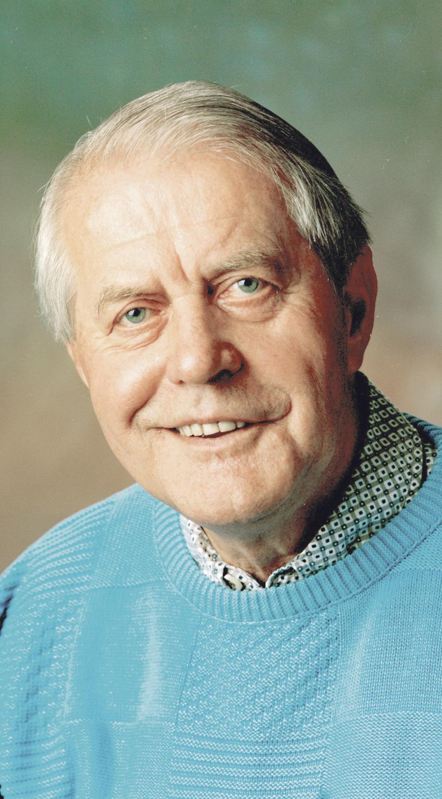 Fotografi fra 1999 af Karl Otto Meyer. (Fotograf: Foto Remmer) (Arkivet ved Dansk Centralbibliotek for Sydslesvig)