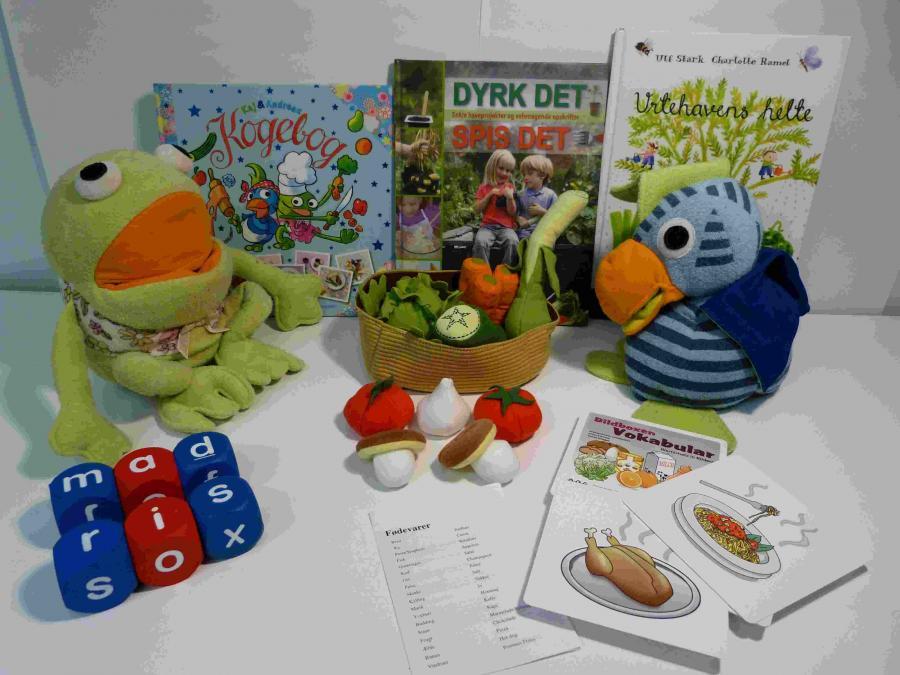 Spis sundt med Kaj og Andrea - sprogkuffert for 4-7 årige