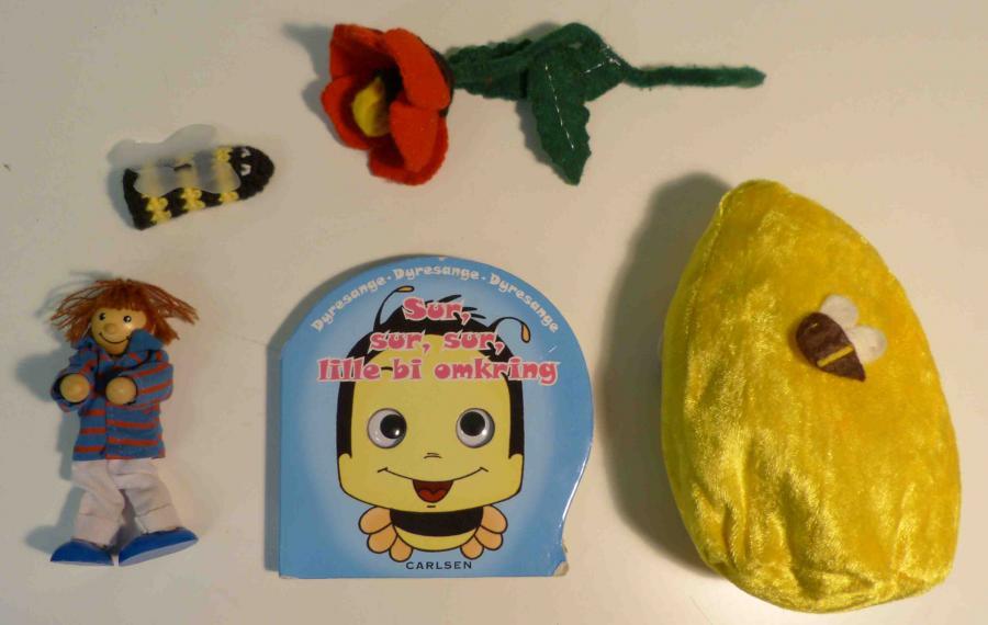 Sur, sur, sur, lille bi omkring - sangkuffert for 2-6 årige