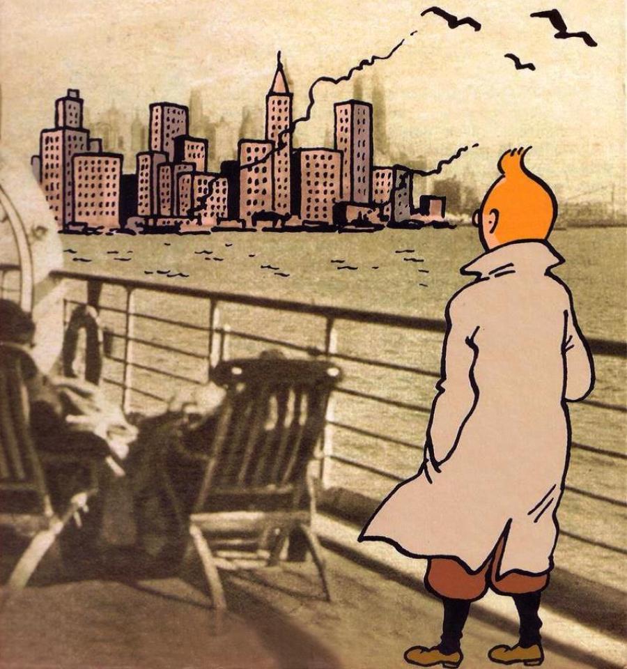 Hurra for Tintin