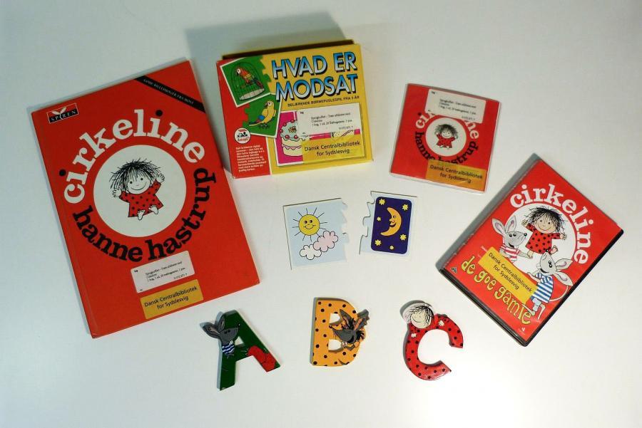 Træn alfabetet med Cirkeline - sprogkuffert for 4-7 årige