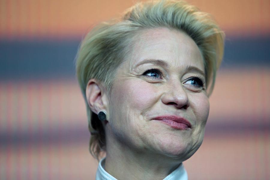 Trine Dyrholm spiller Margrete 1. Foto: Wiki Commons