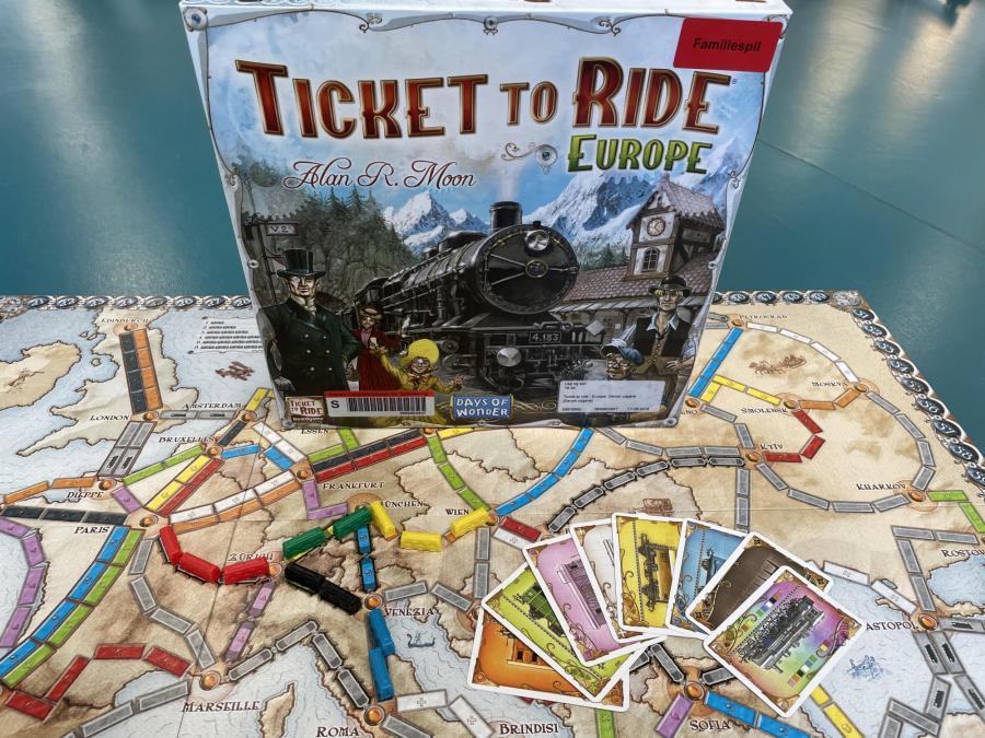 Ticke to Ride - Europa