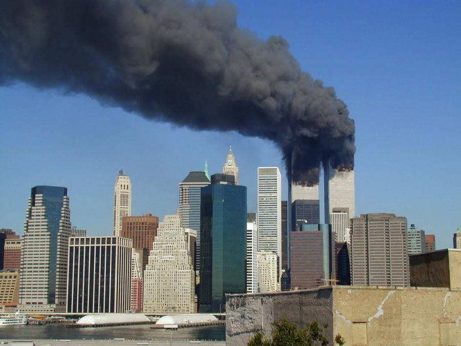New York 11. september 2001. Billede: WikiCommons.