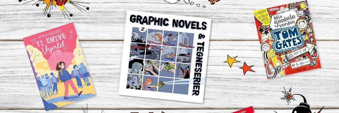 Graphic novels & tegneserier